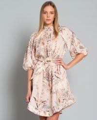 Sukienka z lnu