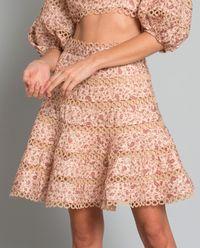 Spódnica z lnu