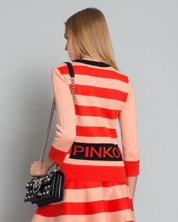 Prążkowany sweter Lugana