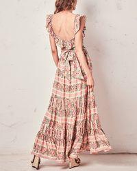 Hedvábné maxi šaty
