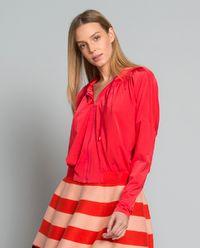Bluza Radunare z połyskiem i aplikacją z tyłu