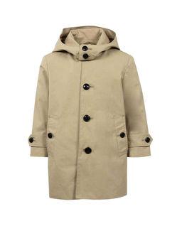 Beżowy płaszcz 0-2 lata