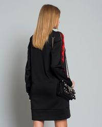 Sukienka Buono Interlock z koronkową wstawką