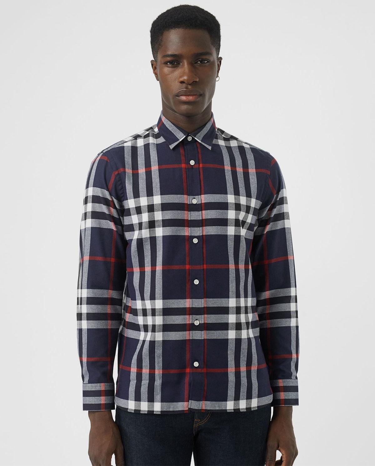 2a38e5332acc7b Koszula w kratę BURBERRY – Kup Teraz! Najlepsze ceny i opinie! Sklep ...