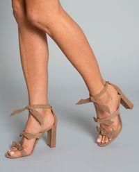 Semišové sandály Giana