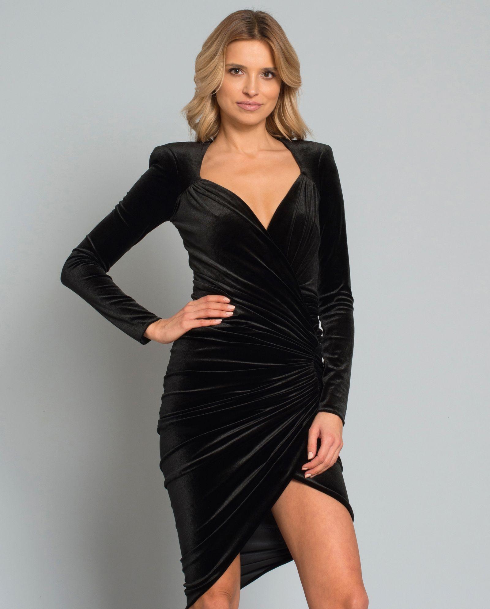 8bd528d2c1 Sukienka z weluru ALEXANDRE VAUTHIER – Kup Teraz! Najlepsze ceny i opinie!  Sklep Moliera2.com