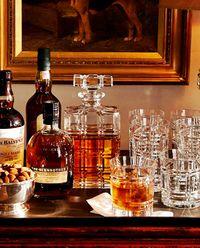 Zestaw dwóch kryształowych szklanek Greenwich