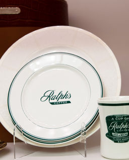 Talerz deserowy Ralph's Coffe