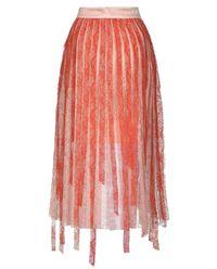Koronkowa spódnica z plisami Chantilly