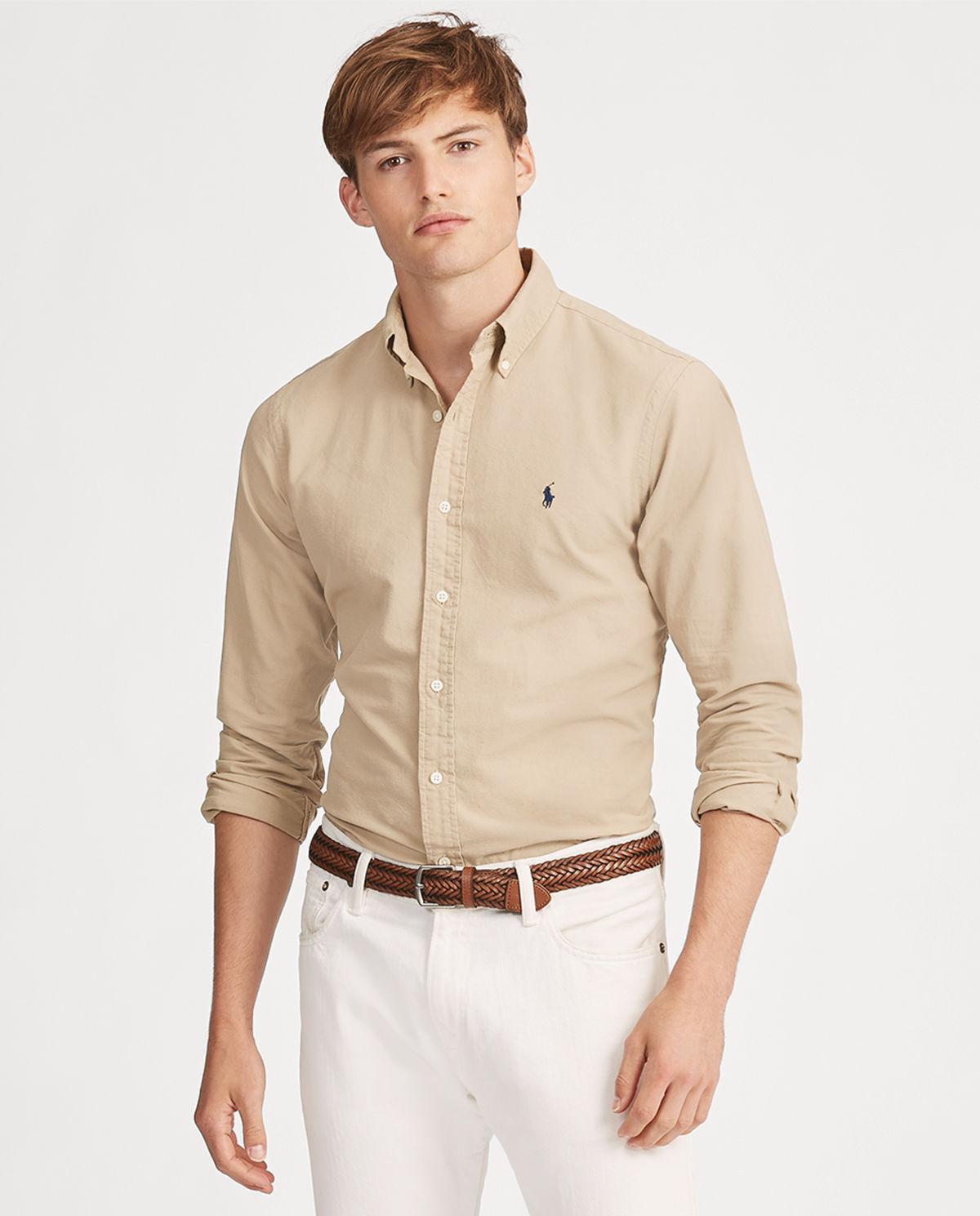 7a3ba41b9 Koszula slim fit oxford RALPH LAUREN – Kup Teraz! Najlepsze ceny i opinie!  Sklep Moliera2.com