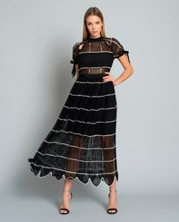 Szydełkowa sukienka