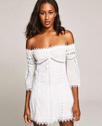 Sukienka z odkrytymi ramionami Campana