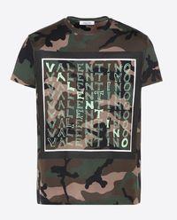 T-shirt Camouflage VLTN