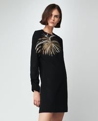 Sukienka z palmą