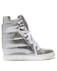 Sneakersy na ukrytym koturnie
