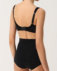 Majtki modelujące Cotton Contour Black