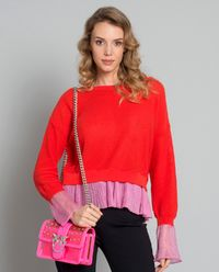 Sweter z falbanką Recioto