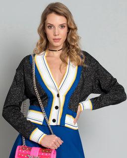 Sweter brokatowy Montiano