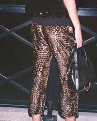 Spodnie z motywem zwierzęcym