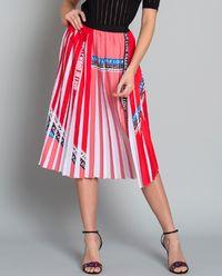 Spódnica plisowana z nadrukiem Adorabile