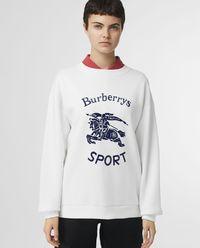 Bluza biała z logo