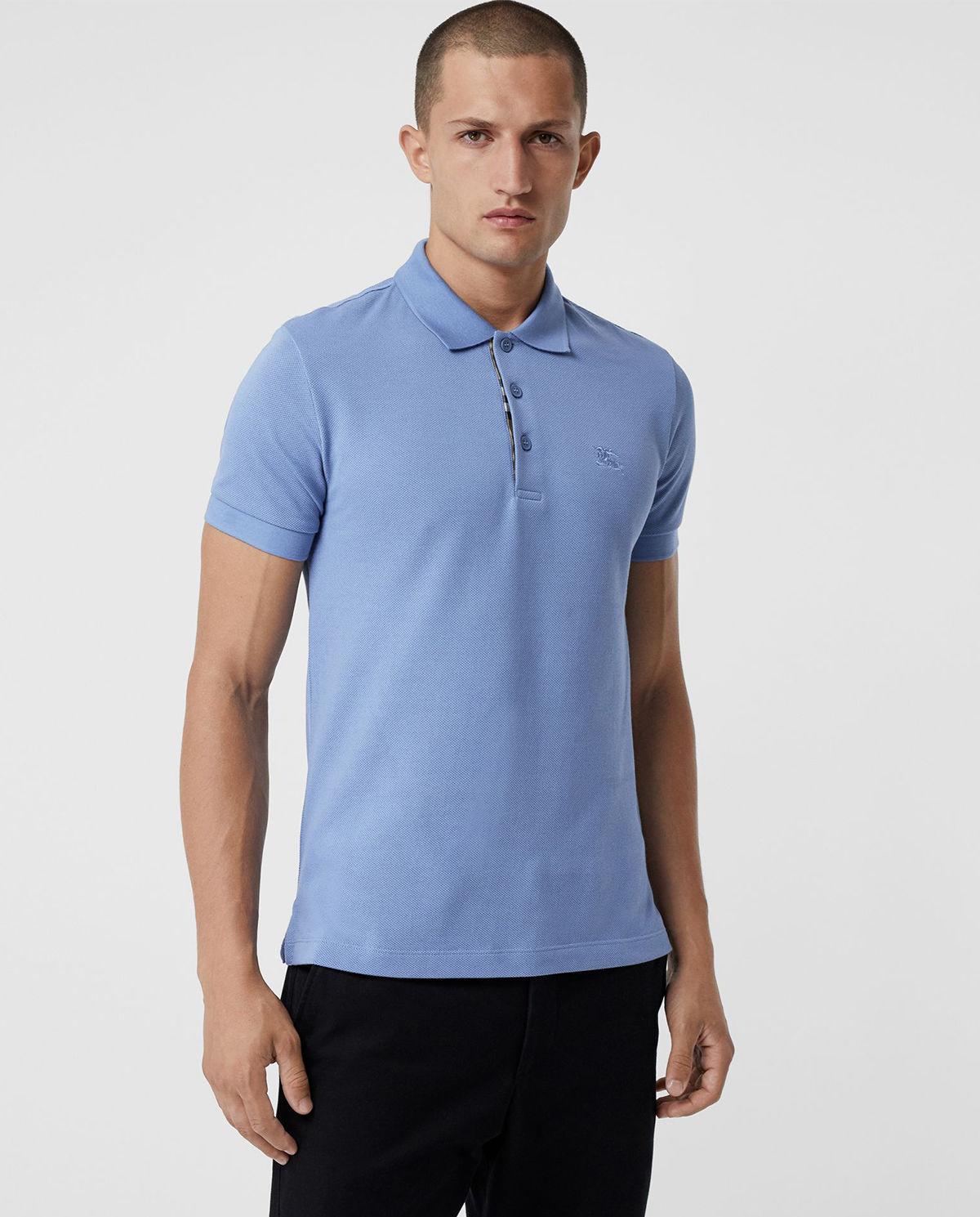 bd07bd0c6 Koszulka polo niebieska BURBERRY – Kup Teraz! Najlepsze ceny i ...