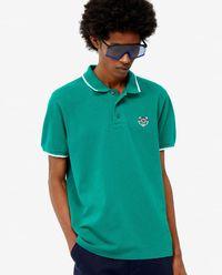 T-shirt polo z tygrysem