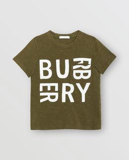 T-shirt z logo 3-14 lat