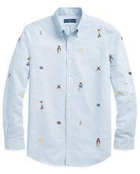 Koszula z naszywkami Classic Fit