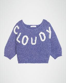 Sweter z napisem  6-14 lat