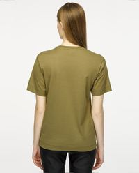 T-shirt z guzikami