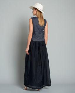 Sukienka z domiekszą jedwabiu