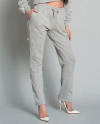 Spodnie dresowe z kryształami