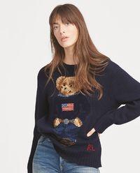 Vlněný svetr Polo Bear