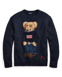 Sweter wełniany Polo Bear