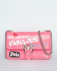 Torebka ze skóry Love Fabulous 1 Corallo