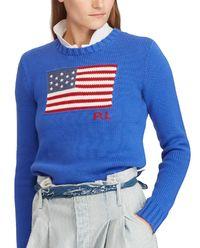 Sweter z flagą
