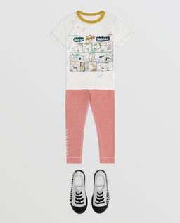 T-shirt z komiksem 6-12 lat