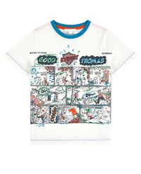 T-shirt z komiksem 3-12 lat