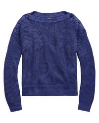 Sweter z lnu