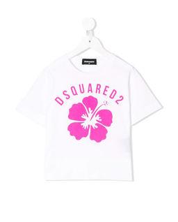 Biały t-shirt 0-2 lata