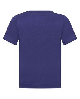 Granatowy t-shirt 0-2 lata