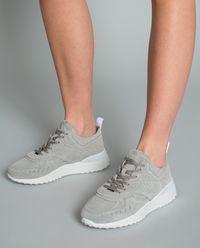 Sneakersy z zamszu