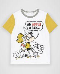 T-shirt z nadrukiem 3-14 lat