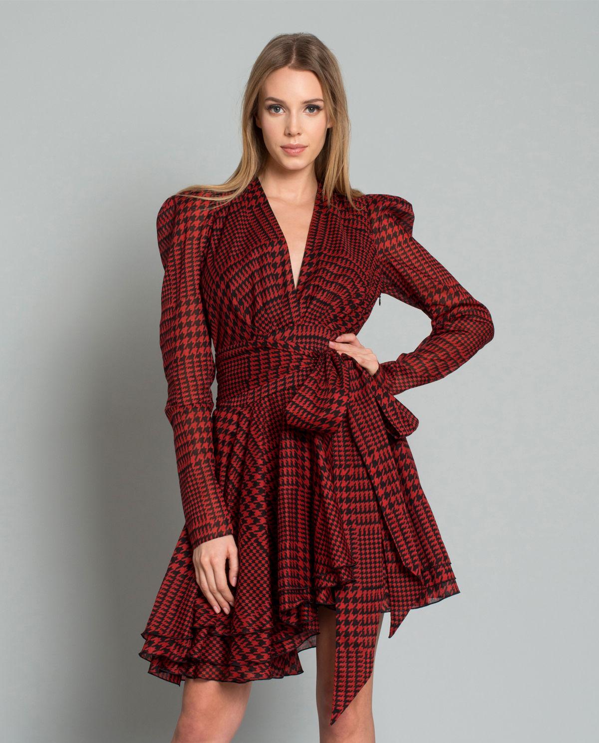 7016a5604738c7 Sukienka w pepitkę z kokardą ALEXANDRE VAUTHIER – Kup Teraz! Najlepsze ceny  i opinie! Sklep Moliera2.com