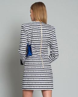 Sukienka mini z logo