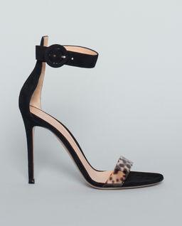 Sandały Portofino z panterką