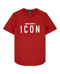 Czerwony t-shirt 4-16 lat