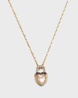 Naszyjnik w kształcie serca z kryształami Swarovskiego