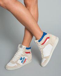 Sneakersy Bayten na ukrytym koturnie 6 cm